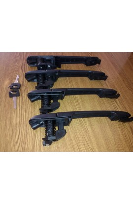 Ручки дверей с сердцевинами и ключами Mercedes Vito 638 /Sprinter /VW LT