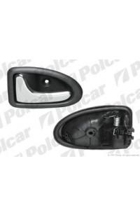 Ручка дверная внутренняя левая (хром) RENAULT CLIO 2 (B0/1/2) / MEGAN / SCENIC