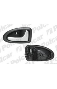 Ручка дверная внутренняя правая (хром) RENAULT CLIO 2 (B0/1/2) / MEGAN / SCENIC