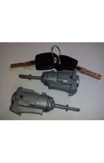 Комплект личинок (сердцевин) дверных замков Audi / Seat / Skoda / Volkswagen