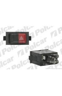 Кнопка аварийки Volkswagen Transporter T3 /Golf 1/ Jetta 1 / Passat B1 / LT28/31/35 / Polo 2 / Scirocco 2 (53B)