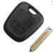 Заготовка ключа с брелком Citroen Saxo / Xsara / Picasso /  Berlingo - 2 кнопки